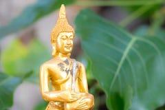 Gouden beeld van Boedha Royalty-vrije Stock Afbeeldingen