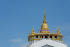 Gouden berg Stock Fotografie
