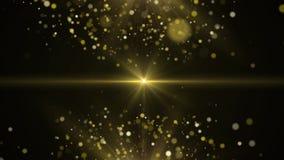 Gouden beweging als achtergrond vector illustratie