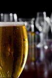 Gouden bier royalty-vrije stock afbeeldingen