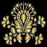 Gouden Bloem Royalty-vrije Stock Afbeelding