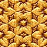 Gouden bloemen Royalty-vrije Stock Fotografie