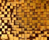 Gouden Blokken Royalty-vrije Stock Afbeelding