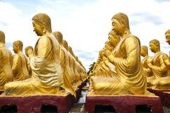 Gouden Boedha Stock Afbeeldingen