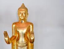 Gouden Boedha in de tempel van doende leunen Boedha van thailan Royalty-vrije Stock Afbeelding