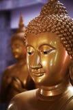 Gouden Boedha, Thailand Stock Foto
