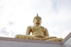 Gouden Boedha Thailand Het grote Standbeeld van Boedha Stock Afbeelding