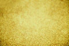 Gouden bokeh abstracte achtergrond stock foto
