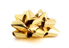Gouden boog Royalty-vrije Stock Foto's
