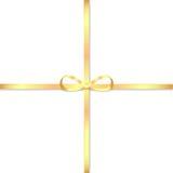 Gouden boog Stock Foto