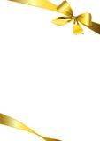 Gouden boog Royalty-vrije Stock Afbeelding