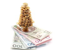 Gouden boom Royalty-vrije Stock Fotografie