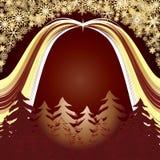 Gouden bos Stock Afbeeldingen