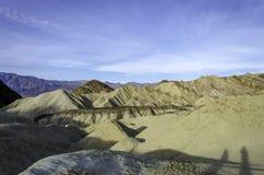 Gouden Canion, het nationale Park Californië van de Doodsvallei Royalty-vrije Stock Foto