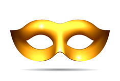 Gouden Carnaval-masker vector illustratie