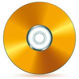 Gouden CD Stock Foto