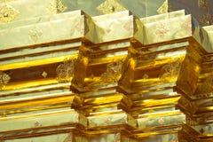 Gouden chedi Royalty-vrije Stock Afbeeldingen
