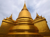 Gouden Chedi Royalty-vrije Stock Fotografie