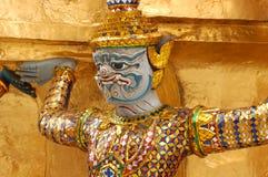 Gouden cijfer in Groot Paleis, Bangkok Royalty-vrije Stock Afbeelding