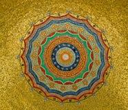 Gouden cirkel royalty-vrije stock fotografie