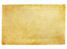 Gouden conceptueel oud document Stock Afbeeldingen
