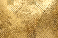 Gouden concrete textuur Stock Foto's