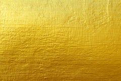 Gouden concrete textuur Royalty-vrije Stock Afbeelding