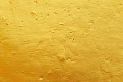 Gouden concrete textuur Royalty-vrije Stock Foto's