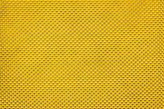 Gouden Corduroy polypropyleen zwarte textuur als achtergrond Stock Afbeeldingen