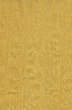 Gouden crêpepapier Royalty-vrije Stock Afbeelding