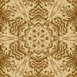 Gouden cristal meetkundeachtergrond en symmetrieontwerp, samenvatting stock illustratie