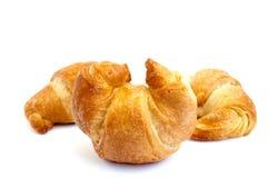 Gouden croissant Royalty-vrije Stock Afbeeldingen