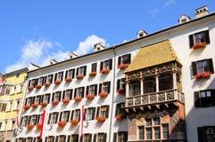 Gouden dak royalty-vrije stock afbeelding