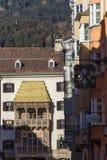 Gouden dak royalty-vrije stock afbeeldingen