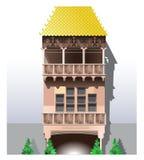 Gouden dak - Innsbruck, Oostenrijk Stock Afbeelding