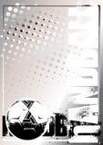 Gouden de afficheachtergrond 2 van het handbal Royalty-vrije Stock Foto's