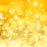 Gouden de lente of de zomerachtergrond. Royalty-vrije Stock Afbeeldingen