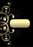 Gouden decoratie Royalty-vrije Stock Fotografie