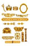 Gouden detail Stock Afbeelding