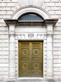 Gouden deur Stock Foto
