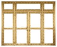 Gouden deur Royalty-vrije Stock Afbeeldingen