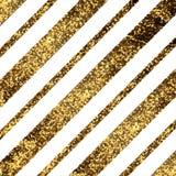 Gouden diagonale lijnen Stock Afbeeldingen