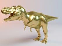 Gouden Dino Stock Foto's
