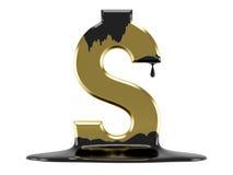 Gouden dollar Royalty-vrije Stock Foto