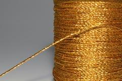 Gouden draad Stock Fotografie