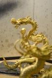 Gouden Draak Stock Foto's
