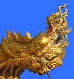 Gouden Draak Royalty-vrije Stock Foto's