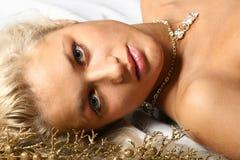 Gouden droom Royalty-vrije Stock Foto's