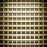 Gouden en zilveren achtergrond Stock Foto's