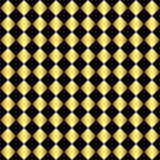 Gouden en Zwarte Achtergrond Stock Afbeelding